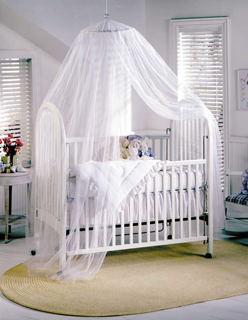 crib canopy type